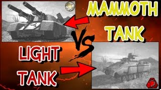 OpenRA: Mammoth Tank Vs Light Tank