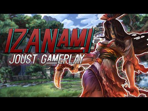 Smite Izanami Joust Season 3 Gameplay And Build Death Awaits