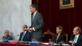 Impresentable comportamiento de la reina Letizia en la Real Academia Española