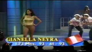 Gianella Neyra en Miss Viña Internacional 1995