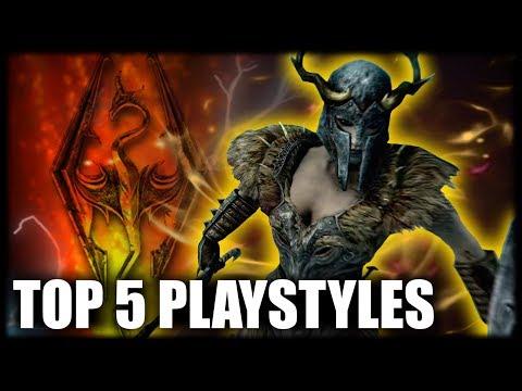 Skyrim - Top 5 Playstyles