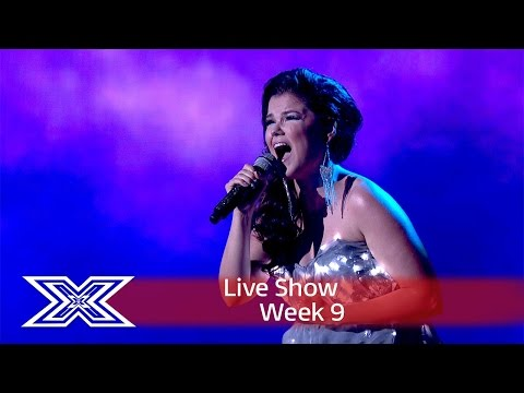 watch Saara Aalto lights up the stage with Sia's Chandelier | Semi-Final | The X Factor UK 2016