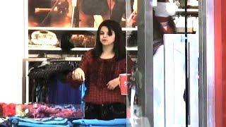 Selena Gomez Embarks On A Shopping Spree [2008]