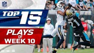 Top 15 Plays of Week 10   NFL Highlights