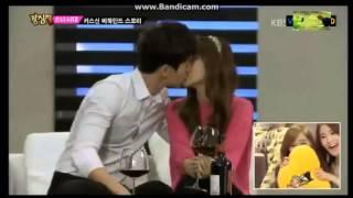  Strong Heart - SNSD Jessica's Kiss Scene in Wild Romance