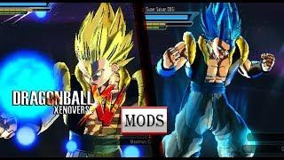 DBXV Mods: Gogeta SSJ Blue, from the movie dragon ball super broly