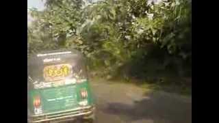 খাগরাছড়ি'র আকা বাকা, উচু নিছু লাগামহীন রাস্তা