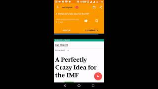 Opeddiction : Fast article loading using Google web light