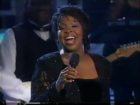 Gladys Knight In performance at the White House June 17 1997