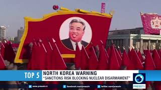 North Korea: US sanctions putting denuclearization at risk