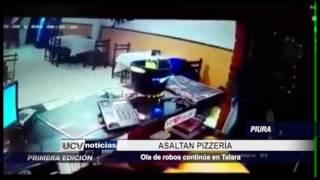 Piura: Asaltan pizzería en Talara