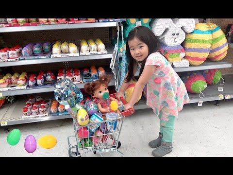 Xxx Mp4 Shopping With Baby Doll For Easter Eggs Shimmer Shine And Shopkins 3gp Sex