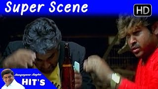 Duniya Vijay Super Scenes | Duniya Kannada Movie | Kannada Scenes | Rangayana Raghu