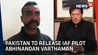 """Gesture Of Peace"" Pakistan To Release IAF Pilot Abhinandan Varthaman"