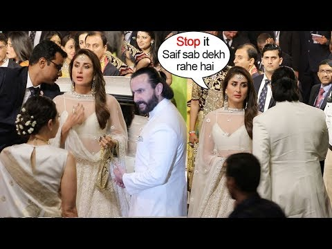 Xxx Mp4 Saif Ali Khan Again FIGHTS With Kareena Kapoor In Front Of Karishma At Ambani 39 S WEDDING Ceremony 3gp Sex