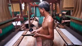 Silk Weaving Factory Vietnam