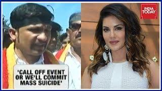 Mass Suicide Threat Against Sunny Leone Event In Bengaluru