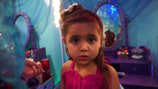 MERMAID TAIL TRANSFORMATION! Everleigh and Ava become real mermaids with the Golfieri TWINS!