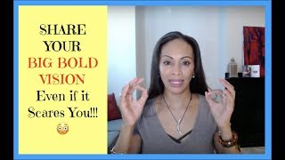 How To Share Your Vision To Inspire Others With Confidence   Dr Andrea Pennington Real Self-Love