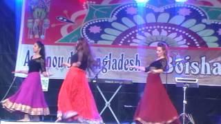 Mix Dance - boishakhi mela 2015 (BCN) at Chandrima.
