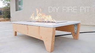 DIY Portable Concrete Fire Pit   Modern Builds