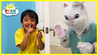 Ryan Pretend Play Treasure Hunting for Surprise Toy!