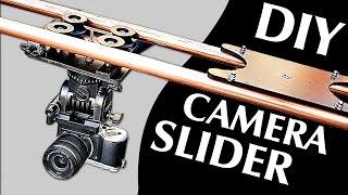 How to Make a Professional Camera Slider (100% DIY!)