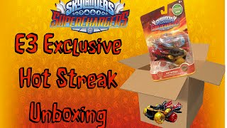 Skylanders: Superchargers: E3 Exclusive Hot Streak Unboxing