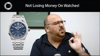 Don't Lose Money ! Watches That Retain Great Value !