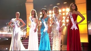 Miss Universe 2010 - TOP 5