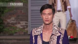 ROBERTO CAVALLI Spring Summer 2012 Menswear Milan - Fashion Channel