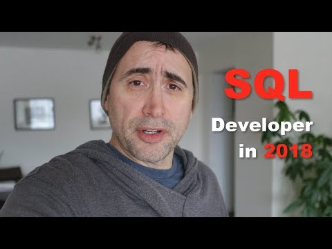 Should you become an SQL Developer in 2018?