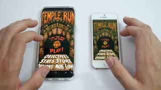 Galaxy S8 Plus vs iPhone SE! - Gaming