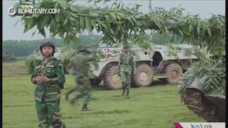 bangladesh army winter excersize.