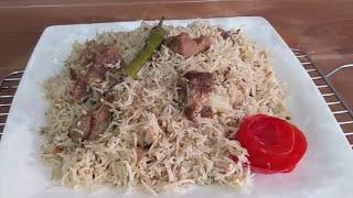 Tasty Mutton Pulao Recipe   Howto Make Pressure Cooker Pulao   Yakhni Rice Recipe