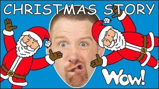 Christmas Story for Kids from Steve and Maggie NEW Magic | Speaking with Stories from Wow English TV