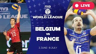 Belgium v France - Group 1: 2017 FIVB Volleyball World League
