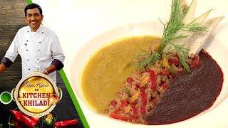 Sanjeev Kapoor Ke Kitchen Khiladi - Episode 54 - Judwa Soup (Carrot & Beetroot)