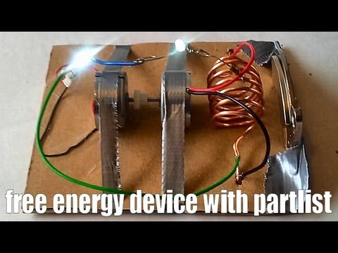 Генератор энергии как сделать