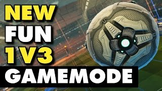Rocket League | New Fun 1v3 Gamemode (Gameplay & Funny Moments)