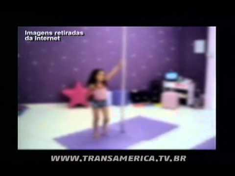 Tv Transamérica Mãe de menina dançando pole dance se pronuncia