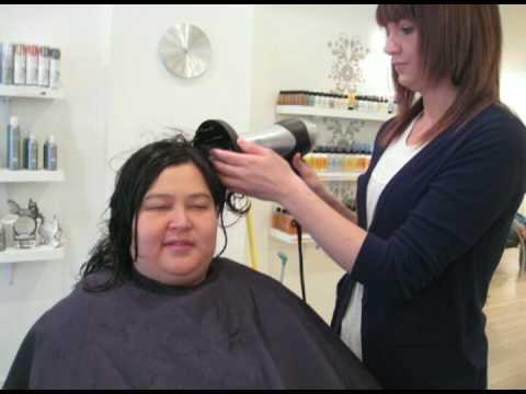 Rachel s haircut experience