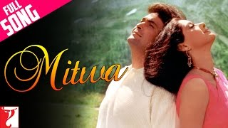 Mitwa - Full Song | Chandni | Rishi Kapoor | Sridevi