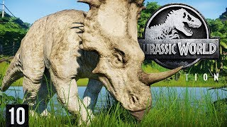 DELUXE EDITION SYTRACOSAURUS + NUBLAR UNLOCKED | Jurassic World: Evolution (Gameplay Part 10)