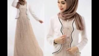 Contoh Model Baju Gamis Dan Blazer Muslim Terbaru