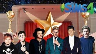 CASA DAS FAMOSAS 17 : FAZENDO NAMORADOS FAMOSOS! - The Sims 4 Gampley - VIVIANE LEERHSEN