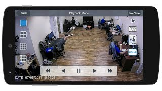 Android Mobile App HD Security Camera View