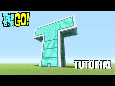 Xxx Mp4 Minecraft Tutorial How To Make The Teen Titans Go T Tower 3gp Sex