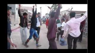 desi dhol marwari dance at the occassion of holi dhundd in chanchori village .mp4
