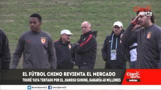 El fútbol chino quiere convertirse en potencia Mundial